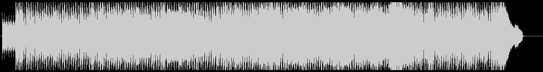 ホームビデオに最適なオープニング用BGMの未再生の波形