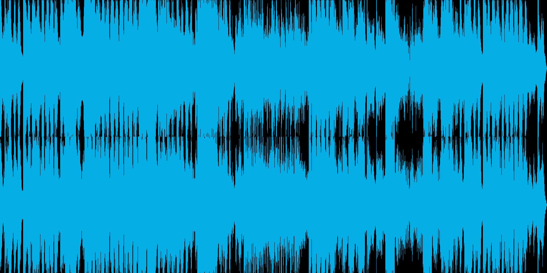 壮大な映画音楽的BGMの再生済みの波形