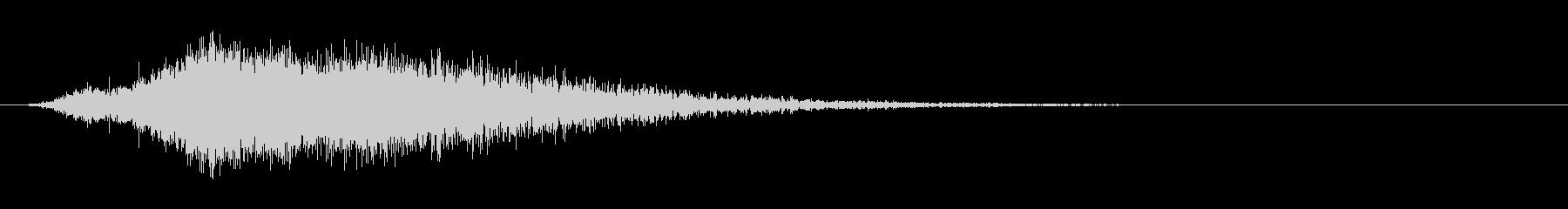 神秘的なトーンデジタルビープロゴの未再生の波形