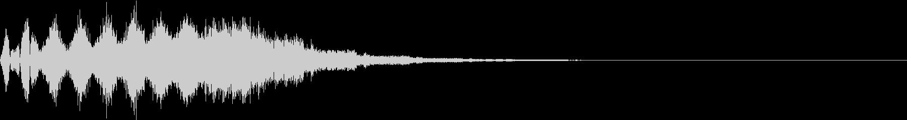 TVFX 目立たせ・アイキャッチ 18の未再生の波形