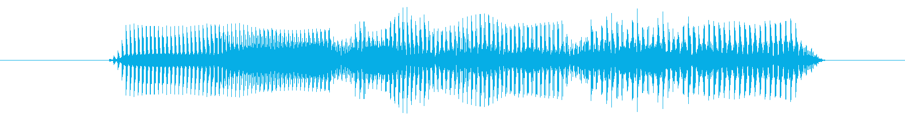 下降音 決定 選択 タララ トゥルルの再生済みの波形