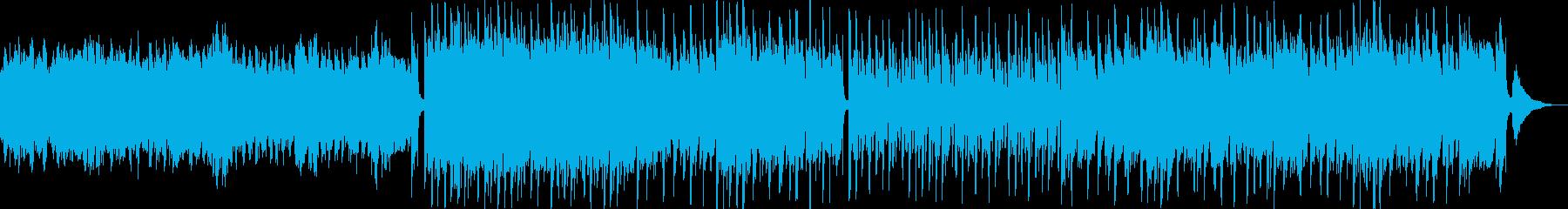 メルヘン、子供や優しい映像のアコギBGMの再生済みの波形