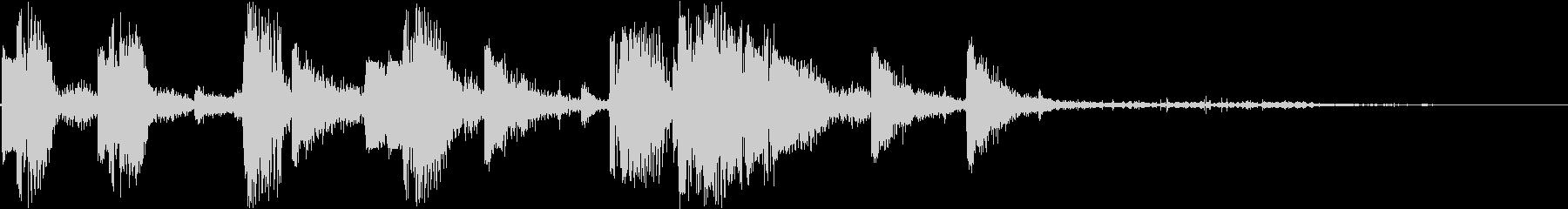 DJ効果音 ハイタッチの未再生の波形