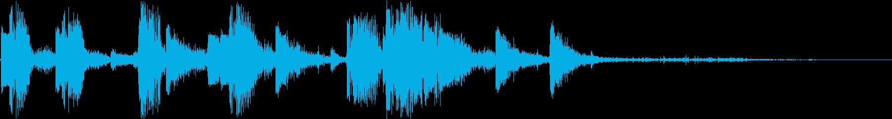 DJ効果音 ハイタッチの再生済みの波形
