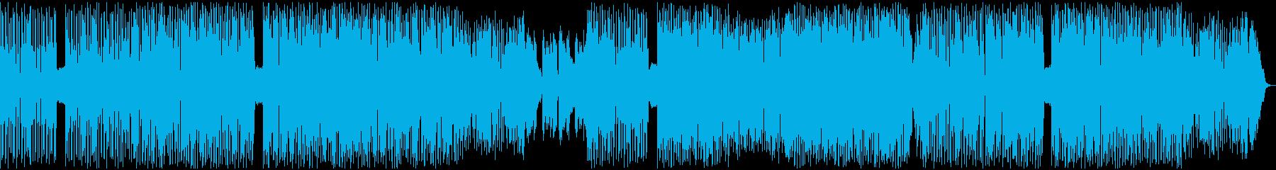 エレクトロドラムンベースのインスト...の再生済みの波形
