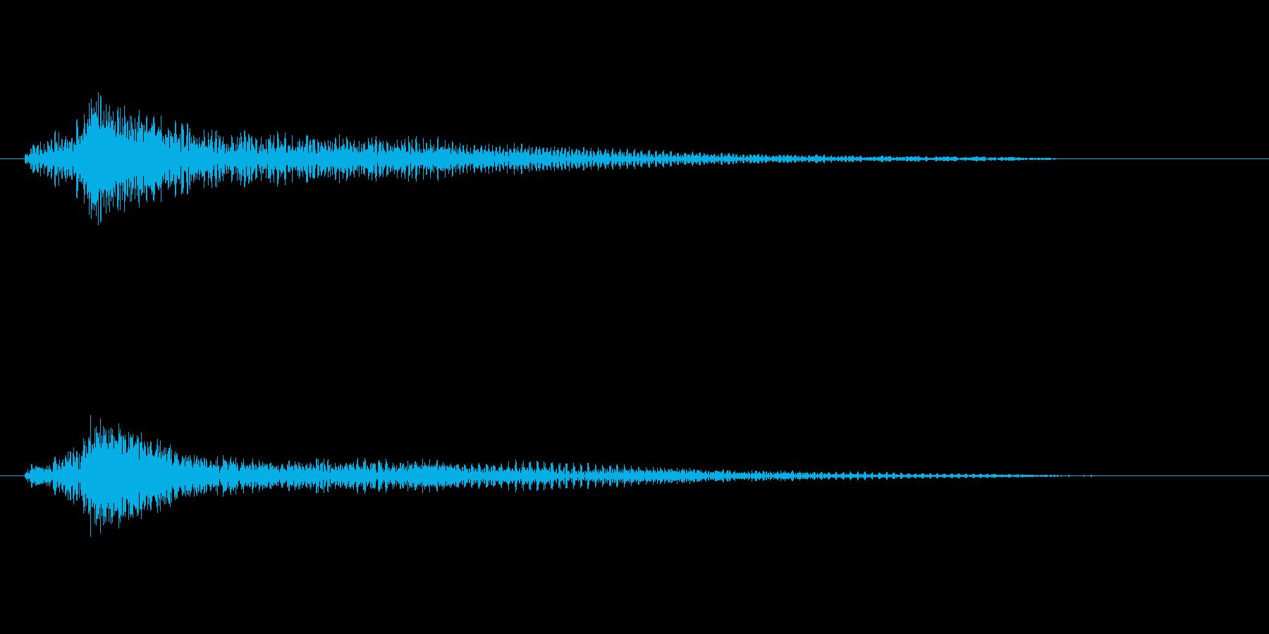 ファンタジー かわいい効果音 決定系05の再生済みの波形