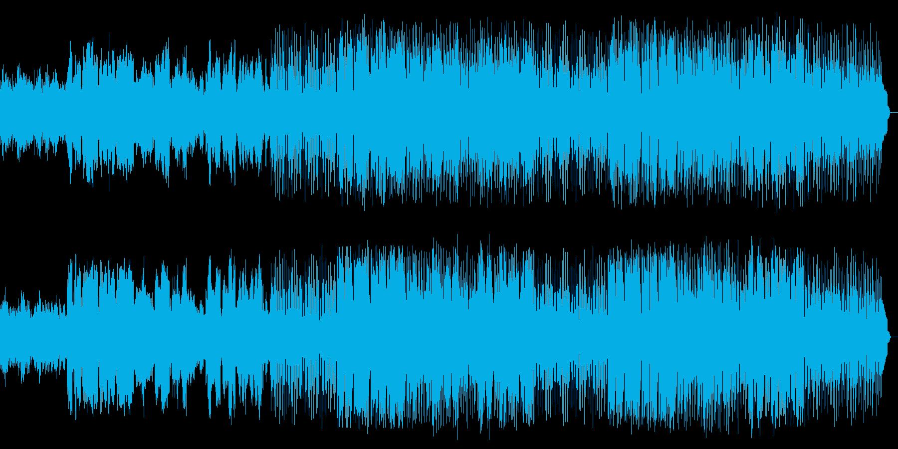 昭和レトロ感のあるビギンをサックスが演奏の再生済みの波形