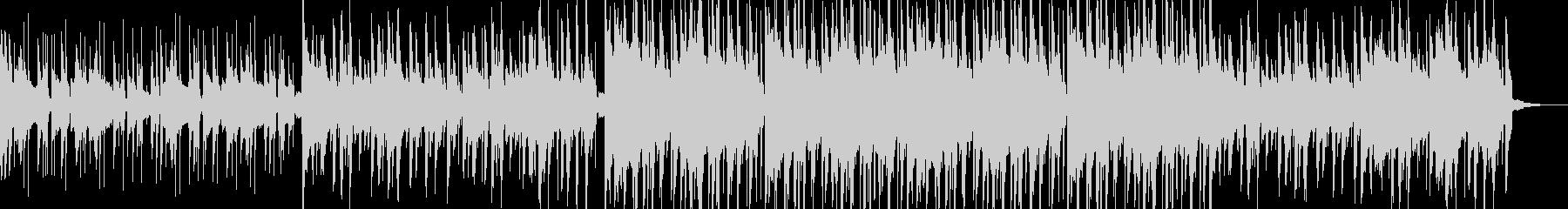 哀愁あるLo-Fi HipHopの未再生の波形
