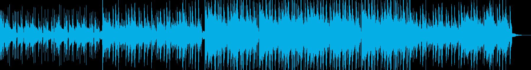 哀愁あるLo-Fi HipHopの再生済みの波形