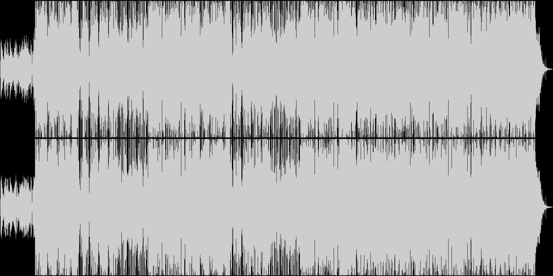 おしゃれで爽やかなドライブミュージックの未再生の波形