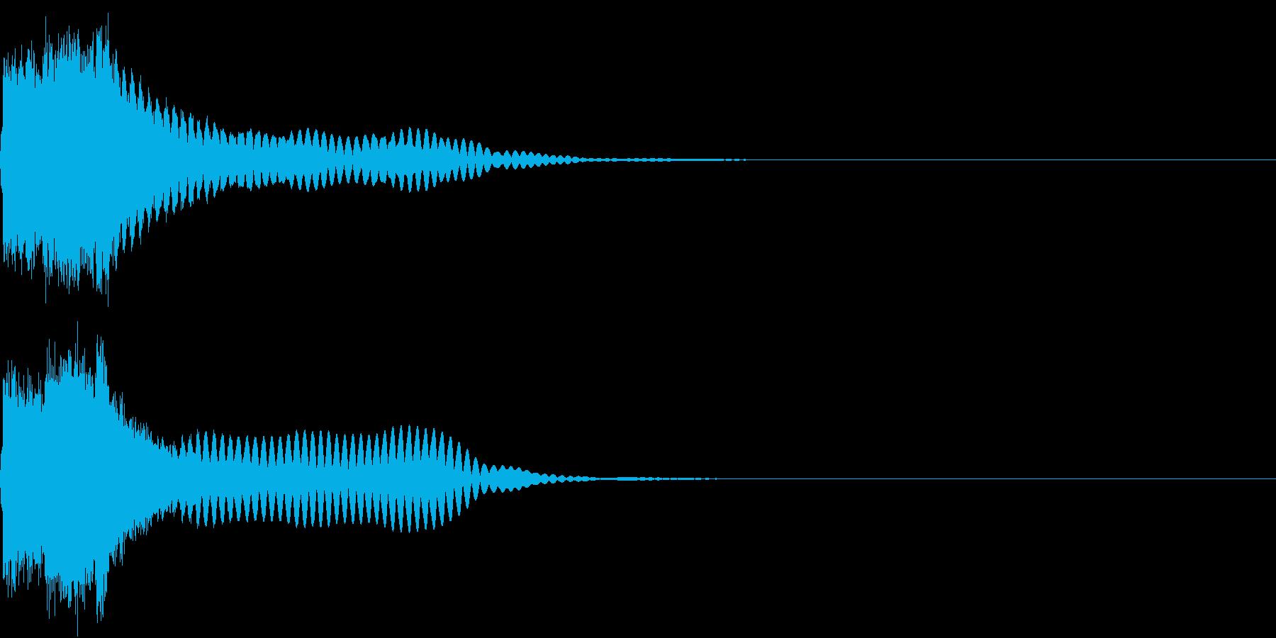 刀 キーン 剣 リアル インパクト Kの再生済みの波形