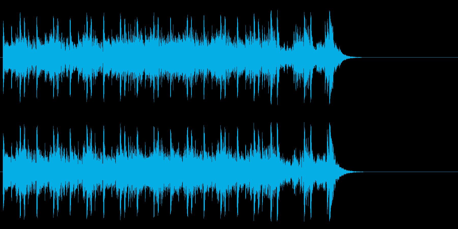 ドライブしたくなるポップ(イントロ)の再生済みの波形