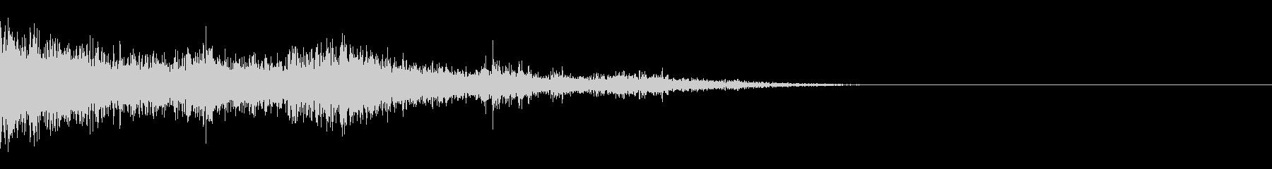 カミナリ(近雷)-15の未再生の波形