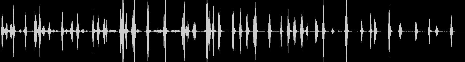 小型犬:内線:Barえる、うなる、うなるの未再生の波形