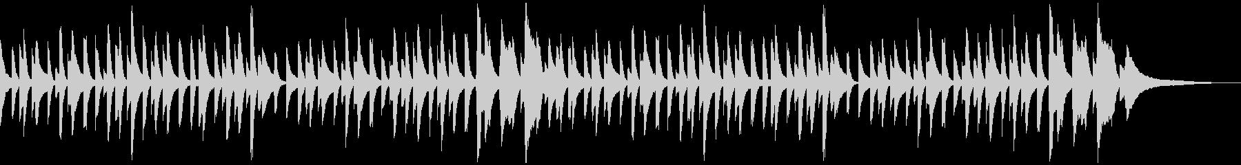 童謡「桃太郎」シンプルなピアノソロの未再生の波形