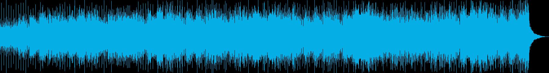 Refreshing feeling, drive, train, train, daily BGM's reproduced waveform