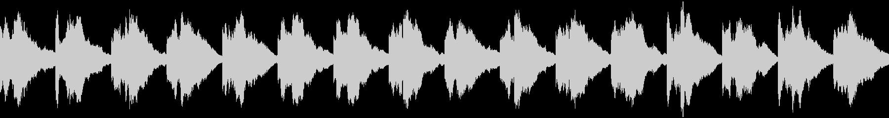 緊急事態の警報音 ピポン ループの未再生の波形