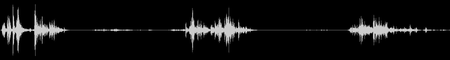 食べる音06(ポテトチップスなど)の未再生の波形
