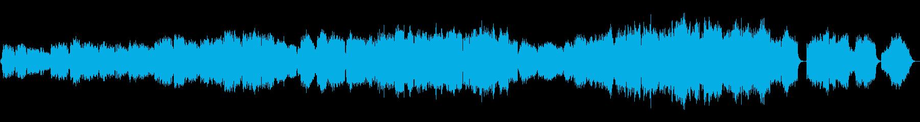 映像向けに合う、本格的なオーケストラ曲の再生済みの波形