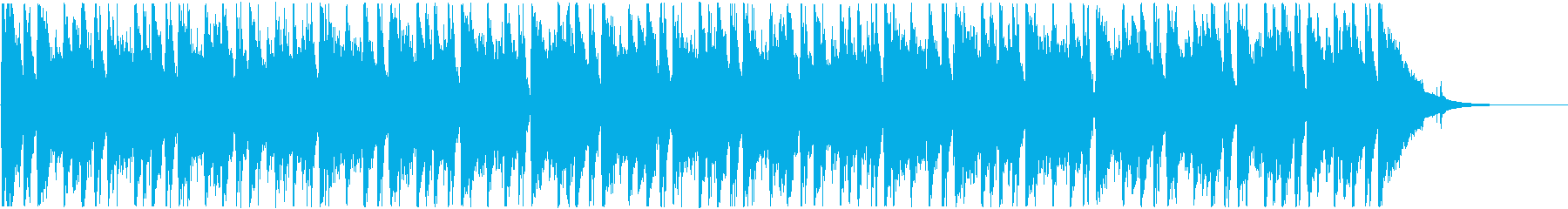 ウクレレとアコギの夏をテーマした明るい曲の再生済みの波形