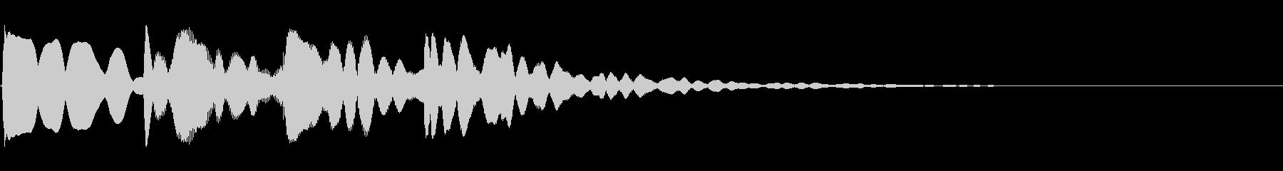 ピンポンパンポン03-3(バイノーラル)の未再生の波形