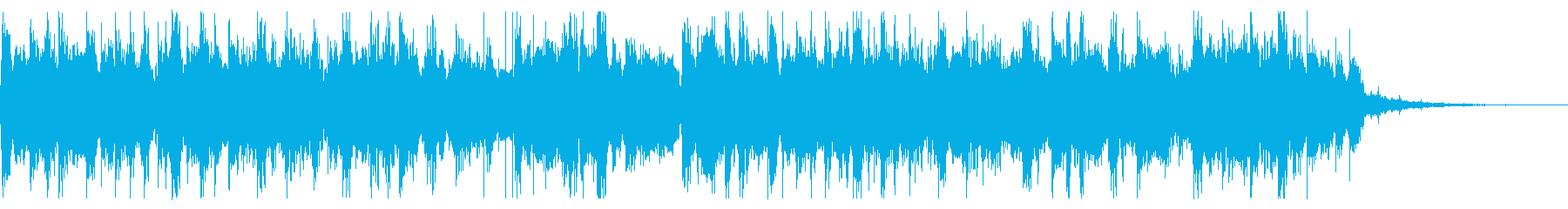 淡々とした工場での旋律の再生済みの波形