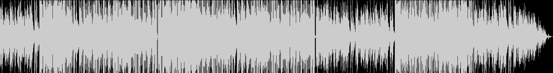 切ないメロディのR&B系バラードの未再生の波形