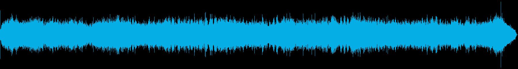 電気シェーバー:開始、実行、遮断バ...の再生済みの波形