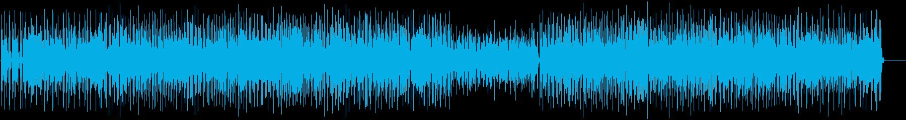 お洒落なエレクトロポップの再生済みの波形