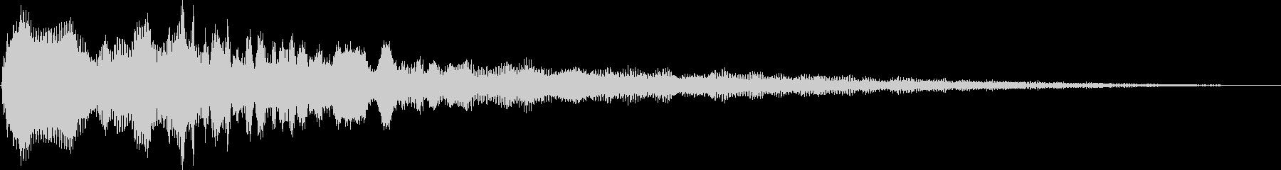 金星ロゴ4の未再生の波形