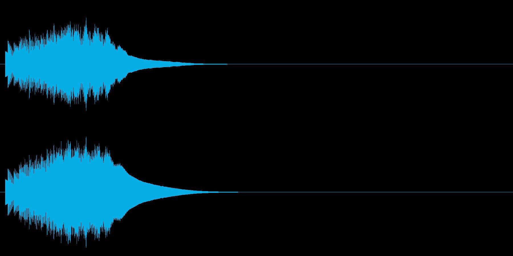 チュルリンの再生済みの波形