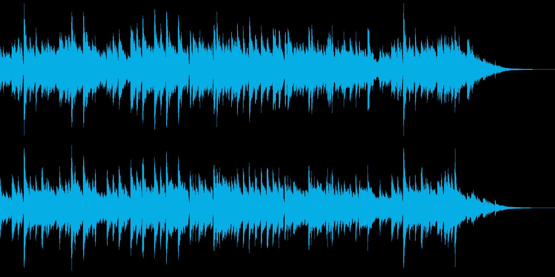 バラード ピアノソロ 感動的の再生済みの波形