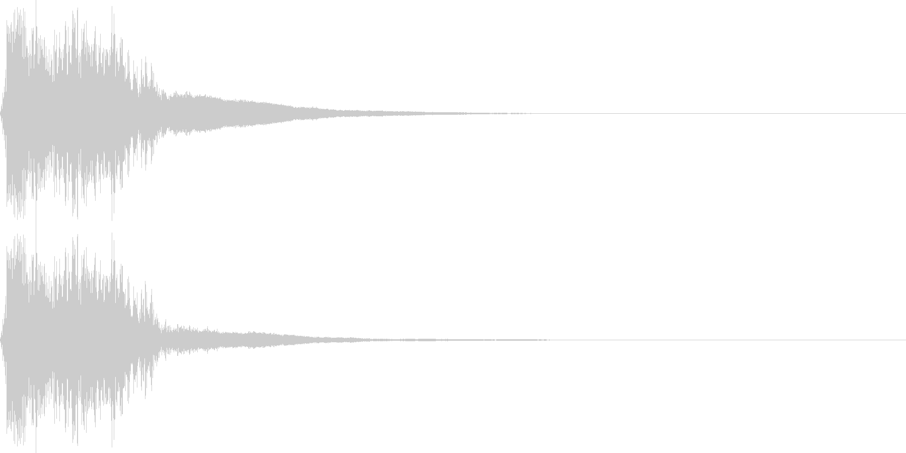 斬撃・シャキーン (斬撃)の未再生の波形
