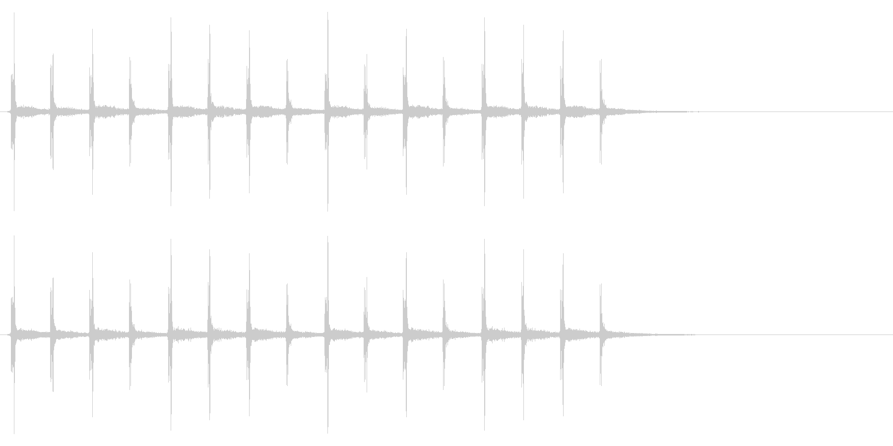 時計 秒針03-9(リバーブ 3)の未再生の波形