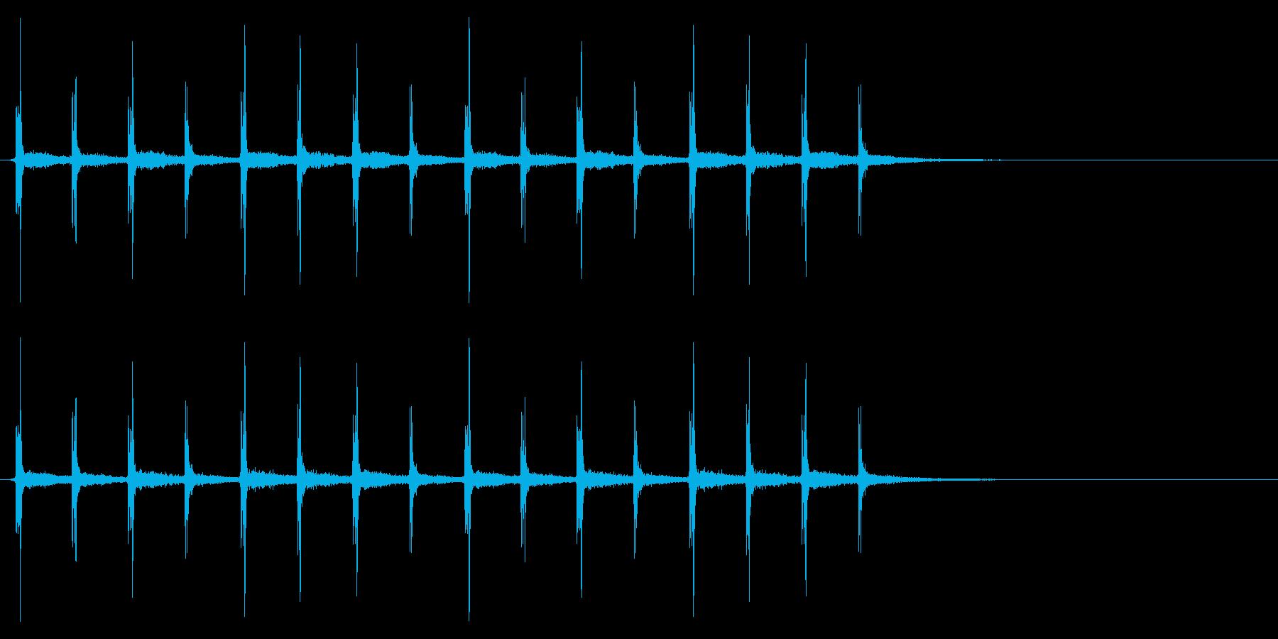 時計 秒針03-9(リバーブ 3)の再生済みの波形