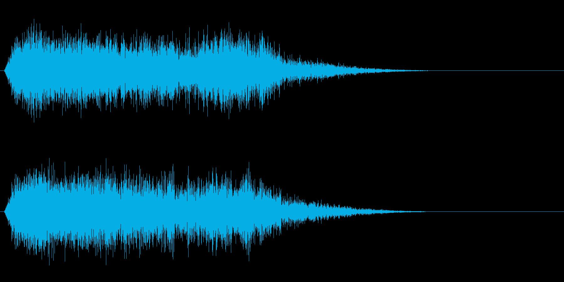 竜/ドラゴン/モンスターの鳴き声!02Bの再生済みの波形
