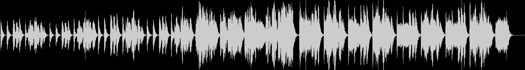 「ほたるこい」アカペラ 4重コーラスの未再生の波形