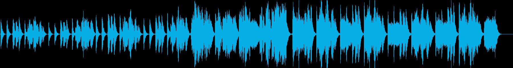「ほたるこい」アカペラ 4重コーラスの再生済みの波形