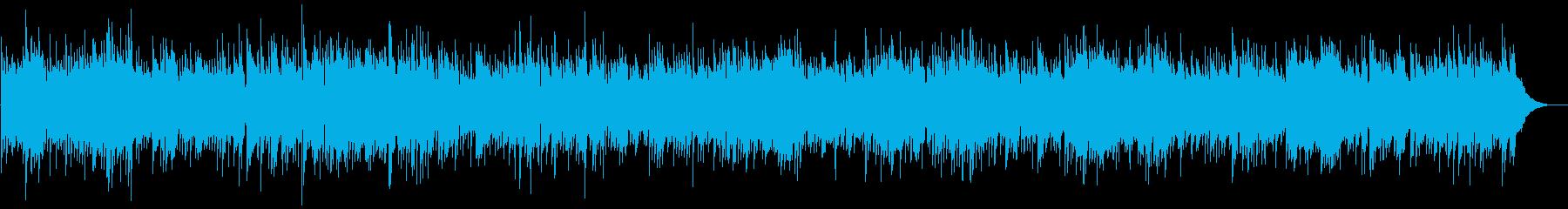 オールドカントリー調バラードの再生済みの波形