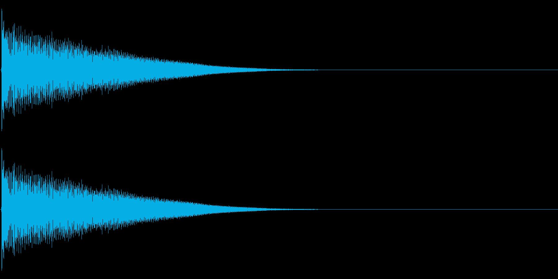 【生録音】ステンレス・スプーンの音 5の再生済みの波形