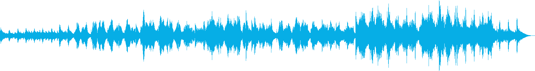 ケルト音楽風の落ち着いた3拍子 の再生済みの波形