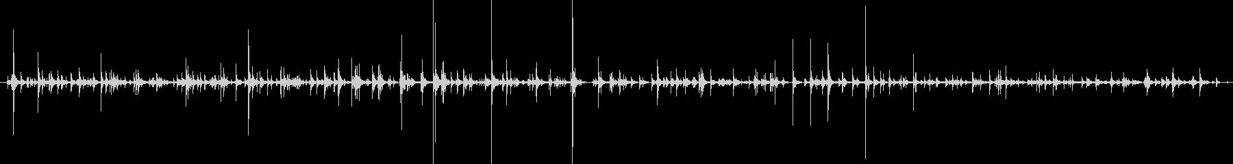 TAP 群集チェストヒット01の未再生の波形