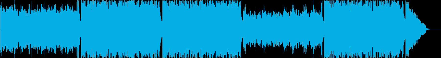 チルアウト、ヒップホップの再生済みの波形