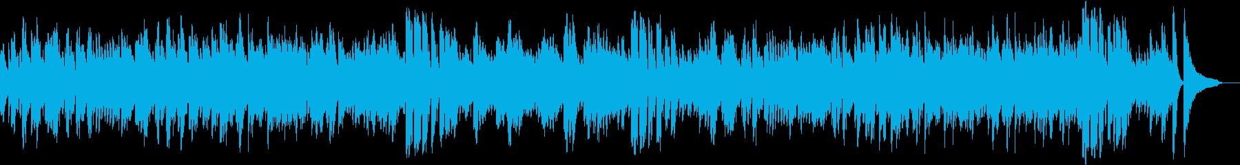 軽快なピアノソロ曲です。の再生済みの波形