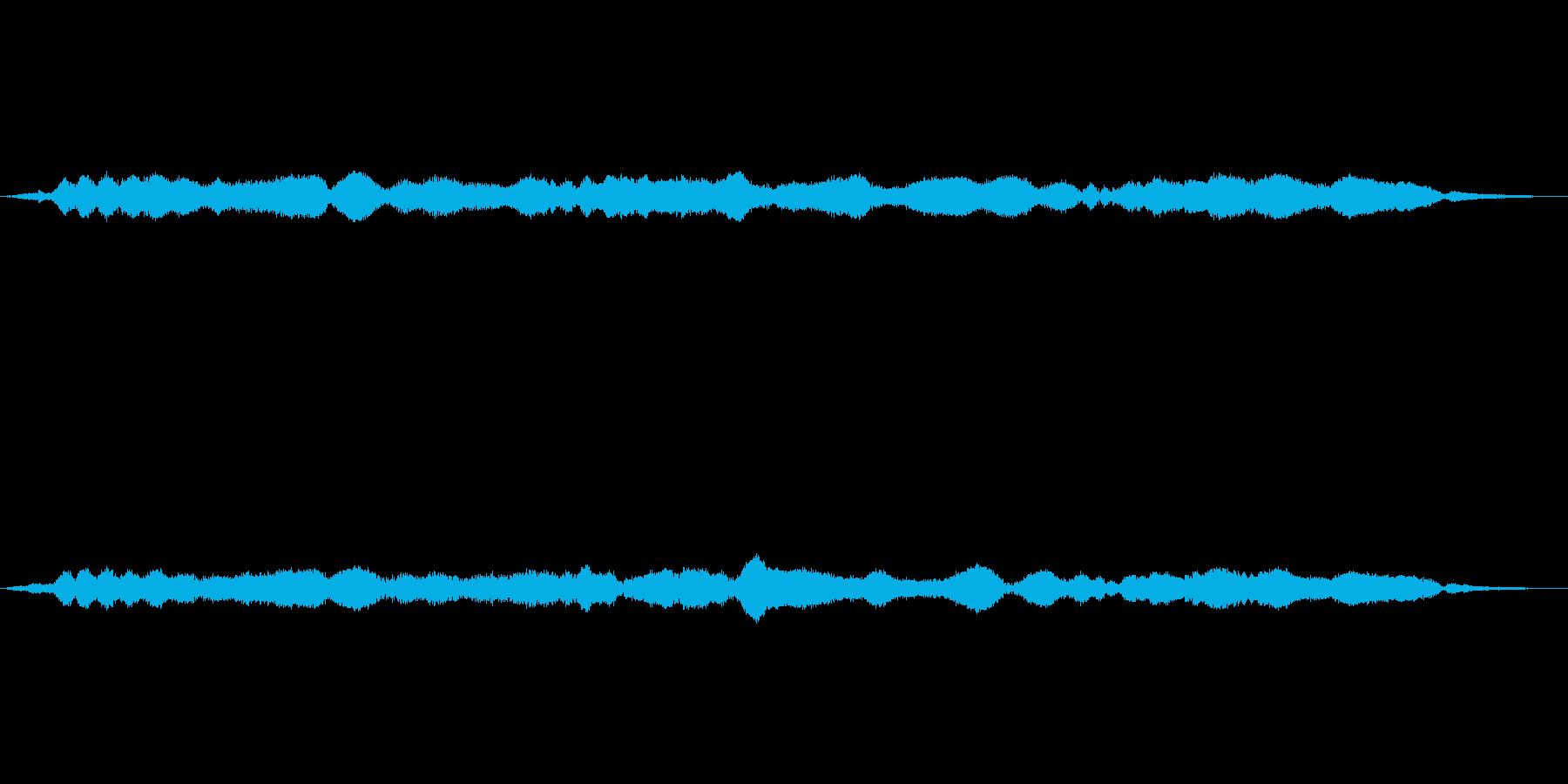 うーうーうーの再生済みの波形