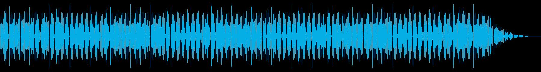 GB風対戦格闘ゲームのゲームオーバー曲の再生済みの波形