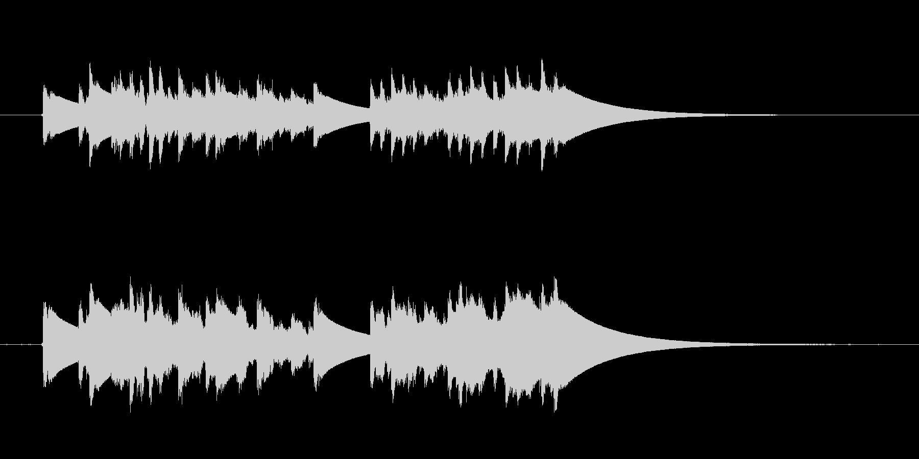 クイック繰り返しディンドン型ドアベ...の未再生の波形