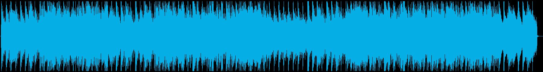 【朝のテレビ番組✨】爽やか✋青空✋アコギの再生済みの波形