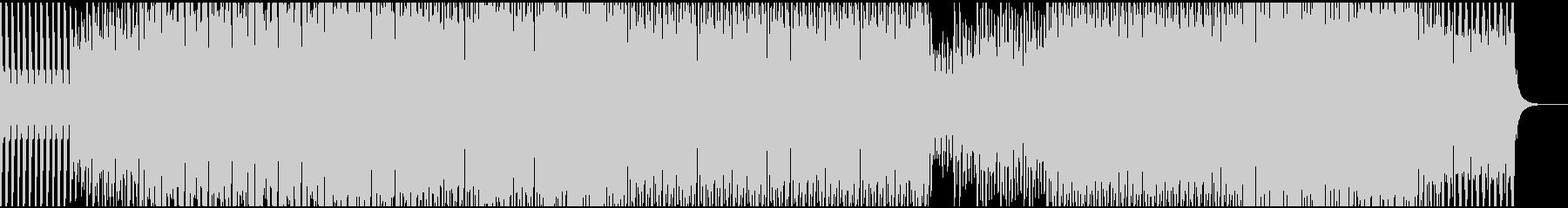 粛々と進む日常、毎日(テクノサウンド)の未再生の波形
