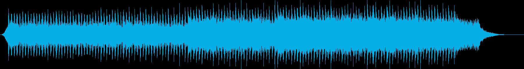 企業VP系26、爽やかギター4つ打ち5bの再生済みの波形